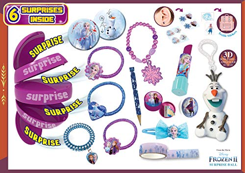Craze Surprise Ball Frozen II Kinder-Überraschung Die Eiskönigin Haarschmuck Spielzeug Zubehör Kinderschmuck 18798