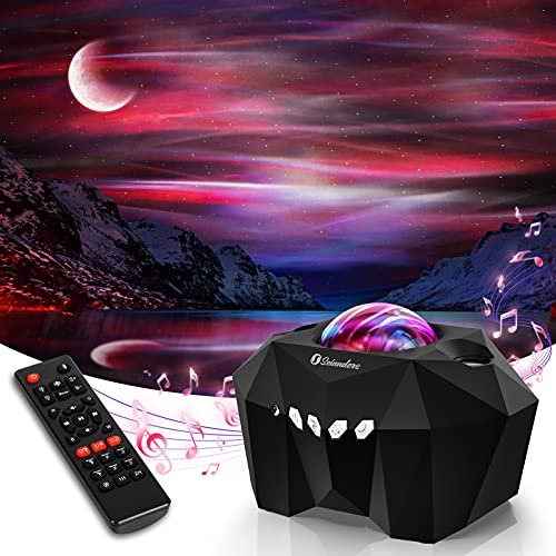 Aurora Star Lights Projector, Galaxy Lights Projector with Remote Control,...