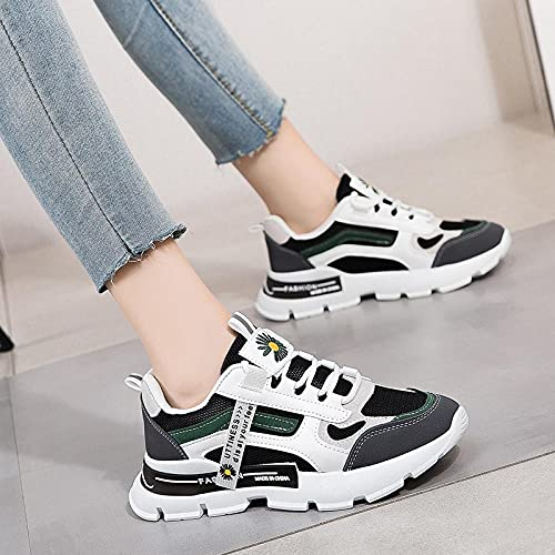 Zapatos de Piscina,Zapatos de Internet Transpirables de sección Delgada Zapatos de Mujer Zapatos de Fondo Grueso-Black_38#,Cómodo