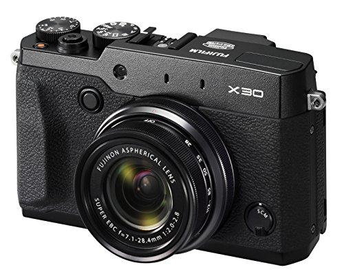 Fujifilm X30 - Cámara compacta de 12 MP (Pantalla de 3', Zoom óptico 4X, estabilizador Digital,...