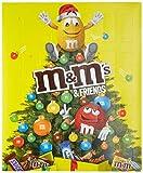 M&M Friends Schokoladen-Adventskalender 24 Portionsbeutel, 1er Pack (1 x 100 g)