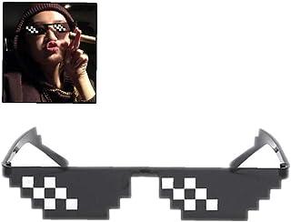 67f8a04ba8 Gafas De Sol De Mosaico Diversión Hip Hop Unisex Elemento Secundario Unisex  Escenario Gafas De Sol