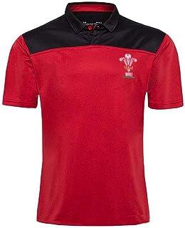 Rugby Jersey2020ウェールズラグビージャージメンズ 夏用通気性Tシャツ男子半袖シャツラグビーファンサッカーユニフォーム赤S-5XL (Size : L)