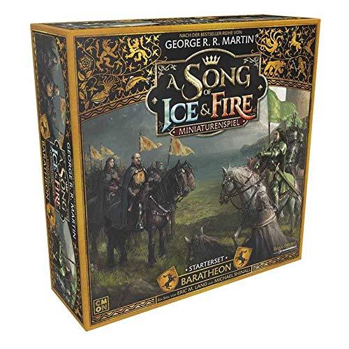 A Song of Ice and Fire CMND0120 A Song of Ice & Fire-Baratheon - Juego de iniciación