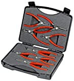 Knipex 00 21 25 Precision Circlip Pliers Set (8 Piece)