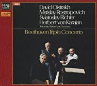Beethoven - Triple Concerto (XRCD24 Master) by Herbert von Karajan & The Berlin Philharmonic Orchestra (2013-07-16)
