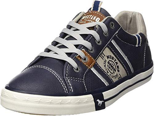 MUSTANG Herren Sneaker Blau, Schuhgröße:EUR 50