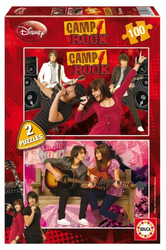 Educa 646497 - Camp Rock Puzzle 2X100