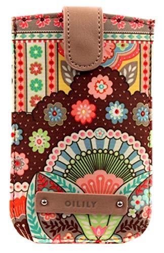 Oilily Smartphone Hülles Handyhülle 8.5 cm, Cappuccino, Einheitsgröße