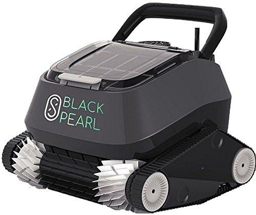 PISCINE ITALIA Robot Pulitore Piscina Automatico 8Streme 7310 Black Pearl Per Fondo E Pareti