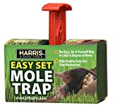 Harris Easy Set Mole Trap, Mole Killer for Lawns and Alternative to Poisons...