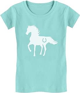 Gift for Horse Lover - Love Horses Girls' Fitted Kids T-Shirt