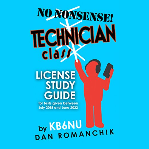 No Nonsense Technician Class License Study Guide audiobook cover art