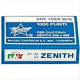 Zenith 788297 Punti Metallici Universali Zenith, 1 Confezione da 1000 Pezzi...
