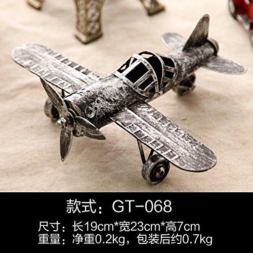 GFEI rétro - tin modèle d'avion / creative decoration room décorations d'enfants chambre / chambre de métiers télé cabinet,h