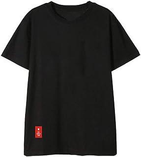 SERAPHY 防弾少年団 Tシャツ BTS 半袖 BTS Love Yourself Tシャツ 韓国 バンダン 夏服 棉 カジュアル 上着 ヒップホップ
