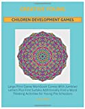 Creative Young Children Development Games: Large Print Game Workbook Comes With Jumbled Letters Plus First Sudoku Additionally Find a Word Thinking Activities for Young Pre Schoolers