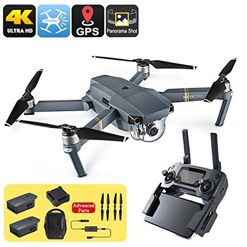 DJI Mavic Pro Drone Combo Pack GPS/GLONASS Range 4 Miglia Telecamera 4K