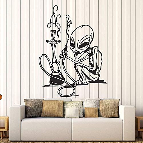 wopiaol Es Wandaufkleber Bewegliche Wand Shisha Rauchen Shisha Bar Vape Store 75X57Cm