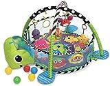 Wachsen with Me 3 in 1 Baby Acitivity Gym Spielmatte & Ball Pit mit Netz-seiten