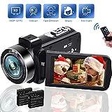 Camcorders, 18X Digital Zoom Video Camera 1080P 30FPS Vlogging Camera, Digital Camcorder