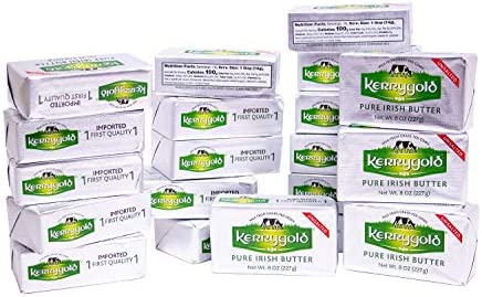 Kerrygold Unsalted Butter 8 Oz Foil Pack Pack of 20 product image