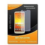 SWIDO Schutzfolie für Motorola Moto E5 [2 Stück] Anti-Reflex MATT Entspiegelnd, Hoher Festigkeitgrad, Schutz vor Kratzer/Bildschirmschutz, Bildschirmschutzfolie, Panzerglas-Folie