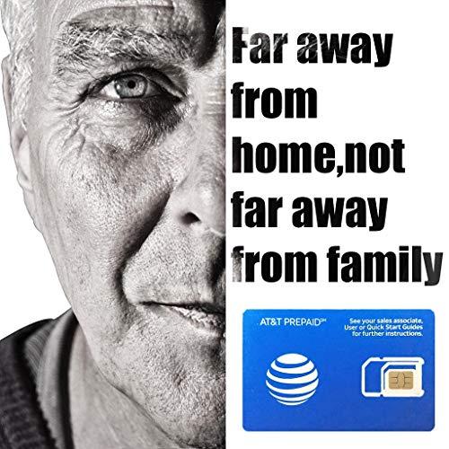 AT & T Prepaid-SIM-Karte für USA, Kanada und Mexiko - 22 GB 4G Data-Unlimited Voice und SMS - 21 Tage