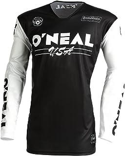 O'Neal Men's MX Jersey (Black/White, XXL)