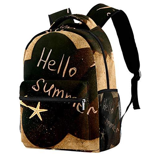 Mochila de verano para la playa y la arena, mochila de viaje informal para mujeres, adolescentes y niños