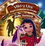 Viki y Uni - ¡Feliz Navidad!: Cuento de hadas de año nuevo sobre un unicornio para niños de 4 a 8 años.