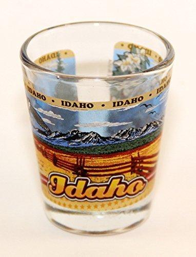 Idaho State Wraparound Shot Glass