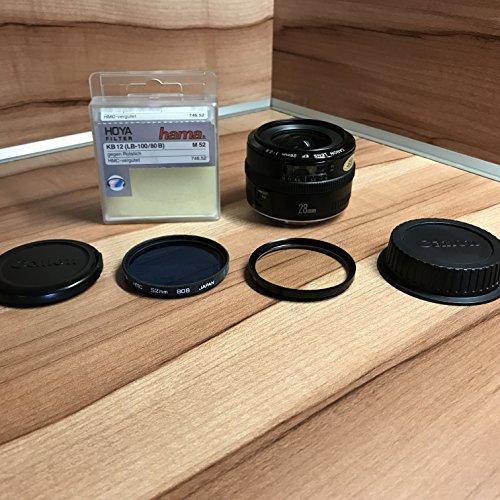 Canon EF 28mm/1:2,8 Objektiv (52 mm Filtergewinde)