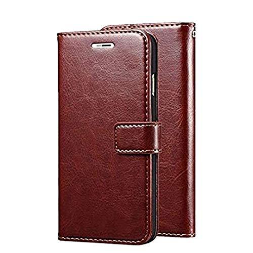 CellShell Vintage Leather Magnetic Flip Cover Wallet Back Cover Case for LG G6 - Brown