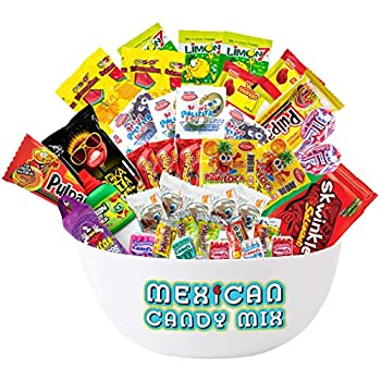 Mexican Candy Assortment  40 Count  by Ole Rico
