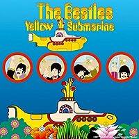 ビートルズ個性的なコースター:イエローサブマリンのPortholes。