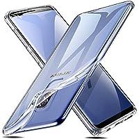 ESR Funda Transparente para Samsung S9 Plus/S9+,Suave TPU Gel [Ultra Fina] [Protección a Bordes y Cámara] [Compatible con Carga Inalámbrica] para Samsung Galaxy S9 Plus/S9+,Transparente