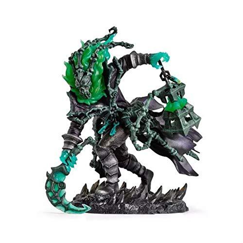 CZWNB Sehr hübsch, Legue of Legends Modell Warlock Ware-Thresh-Statue Lieblingsgeschenk für Spielbegeisterte Geburtstagsgeschenke