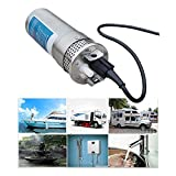 TTLIFE Water DC Pump 24V DC Pump High Lift Stainless Steel Submersible Water Pump 3.2GPM 4' Alternative Energy...