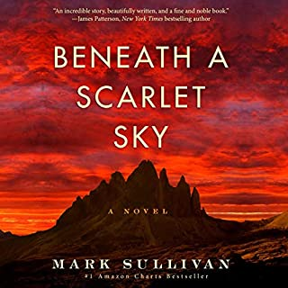 Beneath a Scarlet Sky cover art