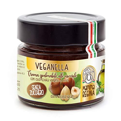 Crema di nocciole senza zucchero VEGANELLA 180g