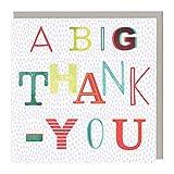 Whistlefish Thank You Card - A Big Thank You Neon