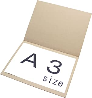 アースダンボール ダンボール 段ボール ポスター 80サイズ A3 発送 20枚 【440×335×1mm】【0187】