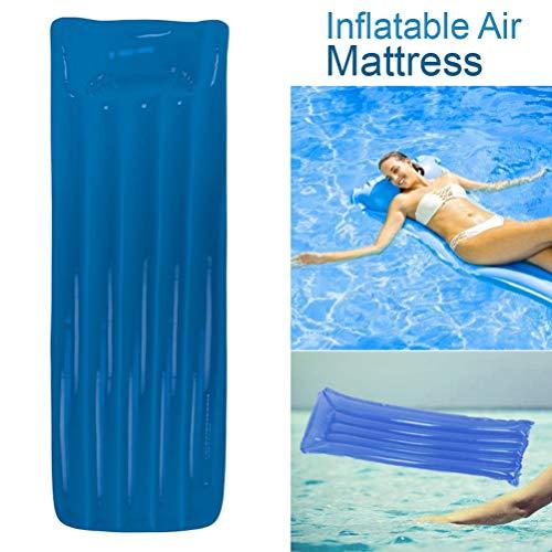 Opblaasbare luchtmatras- Eenvoudig te gebruiken Draagbaar Comfortabel Bed- Voor buiten, Parken, Stranden & Zwembad