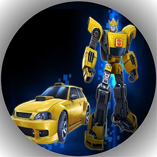 Fondant Tortenaufleger Tortenbild Geburtstag Transformers T25