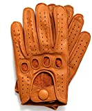 Riparo Genuine Leather Reverse Stitched Driving Gloves...