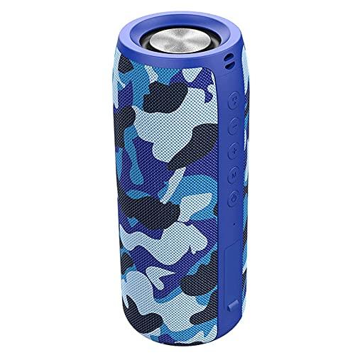 CHOEC Altavoz Bluetooth Altavoz Bluetooth Impermeable Al Aire Libre, Disfrute del Sonido De Un Sonido Impactante Altavoces Duales Graves Pesados De Alta Potencia Y Batería De Larga Duración
