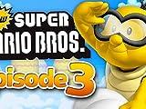 Clip: World 3! Blue Shell Mario!