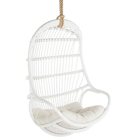 Kouboo Hanging Swing Chair, Large, White