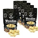 TheChemicalHut The Chemical Hut X5 Natural Wood Wool Firelighters Wax Long Lasting For Open Fires BBQ <span class='highlight'>Log</span> Burner